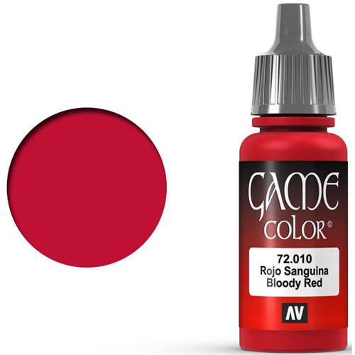 Vallejo Game Color: Bloody Red (17ml)