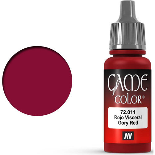 Vallejo Game Color: Gory Red (17ml)