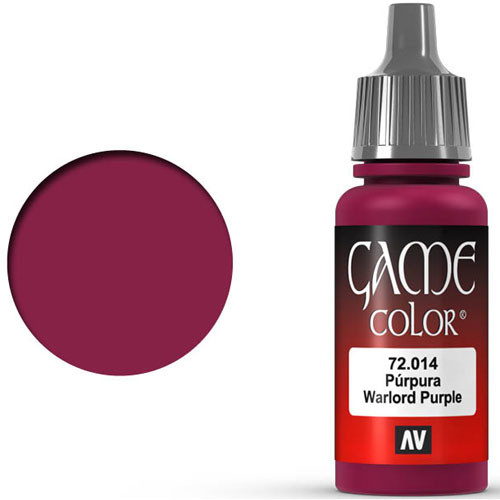 Vallejo Game Color: Warlord Purple (17ml)
