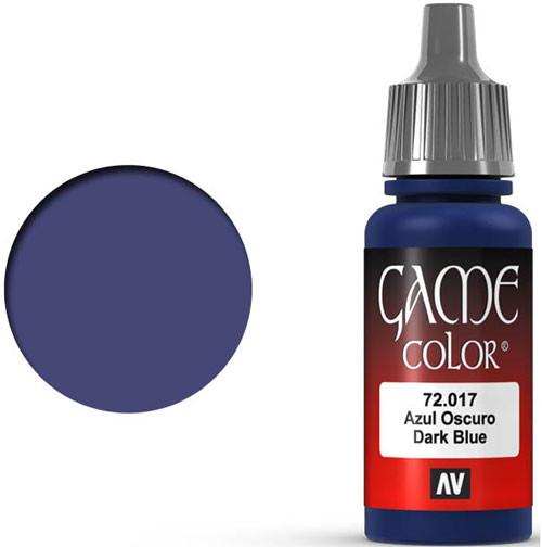 Vallejo Game Color: Dark Blue (17ml)