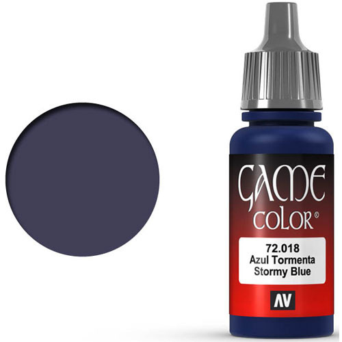 Vallejo Game Color: Stormy Blue (17ml)