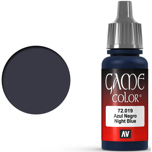 Vallejo Game Color: Night Blue (17ml)