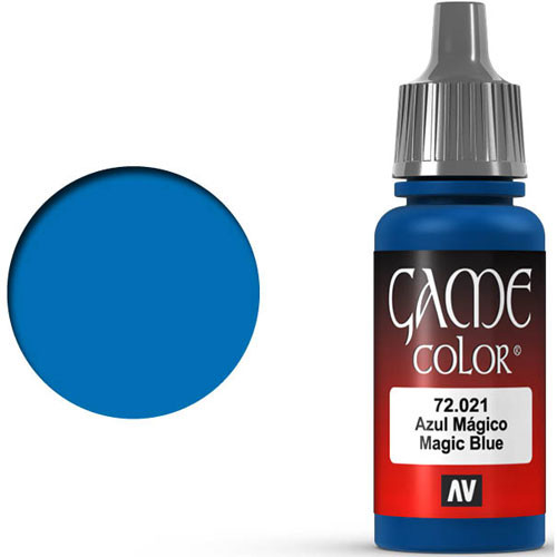 Vallejo Game Color: Magic Blue (17ml)