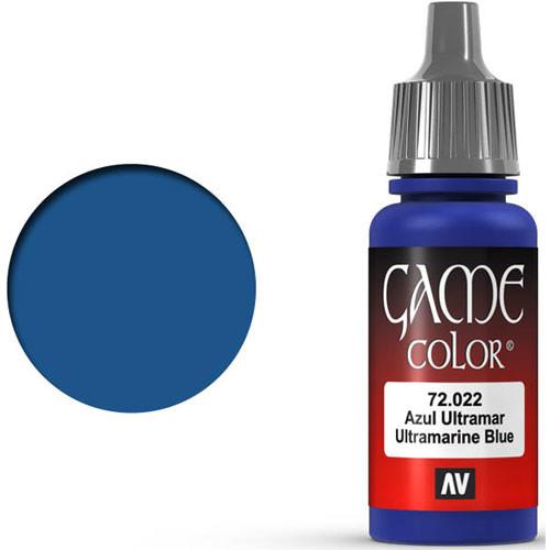 Vallejo Game Color: Ultramarine Blue (17ml)