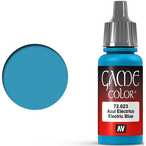 Vallejo Game Color: Electric Blue (17ml)