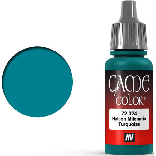 Vallejo Game Color: Turquoise (17ml)
