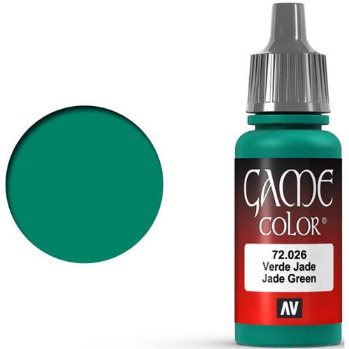 Vallejo Game Color: Jade Green (17ml)