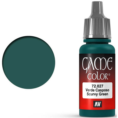 Vallejo Game Color: Scurvy Green (17ml)