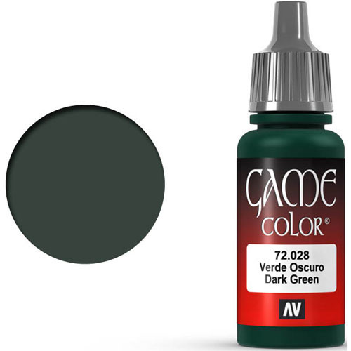 Vallejo Game Color: Dark Green (17ml)