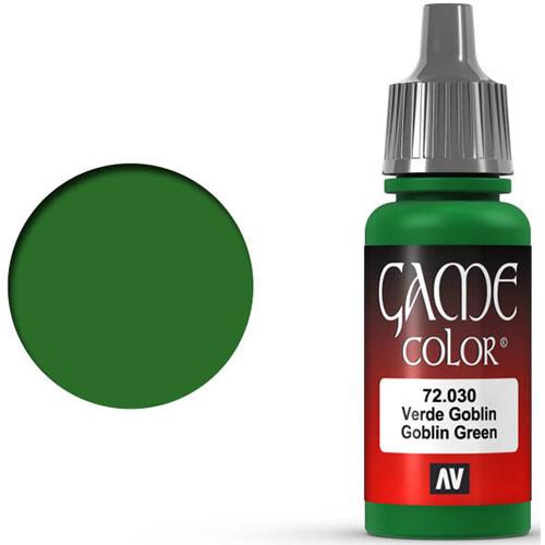 Vallejo Game Color: Goblin Green (17ml)