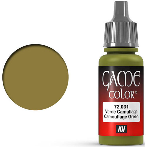 Vallejo Game Color: Camouflage Green (17ml)