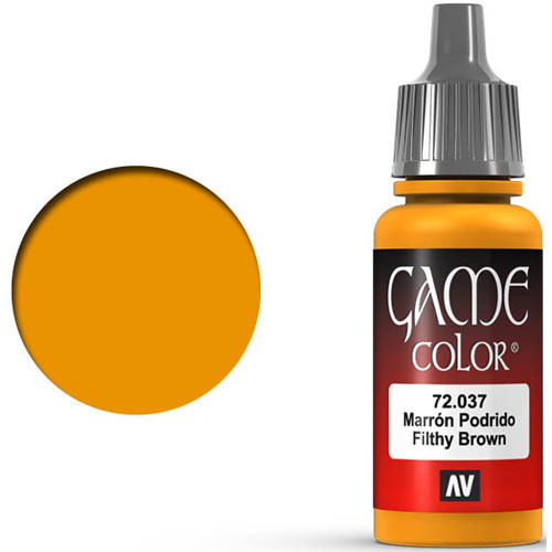 Vallejo Game Color: Filthy Brown (17ml)