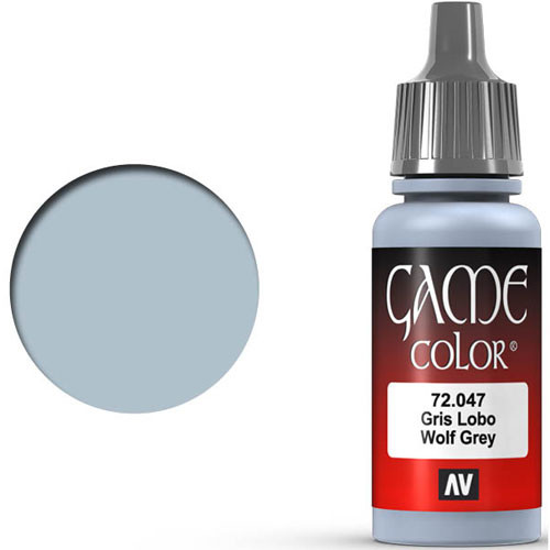 Vallejo Game Color: Wolf Grey (17ml)