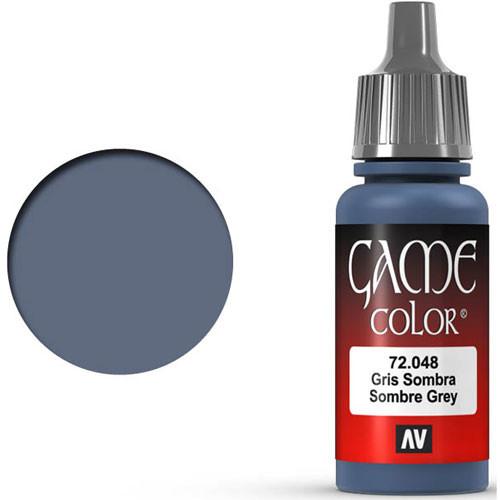 Vallejo Game Color: Sombre Grey (17ml)