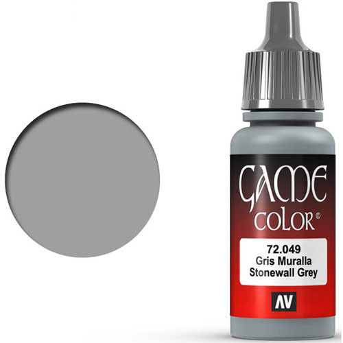 Vallejo Game Color: Stonewall Grey (17ml)
