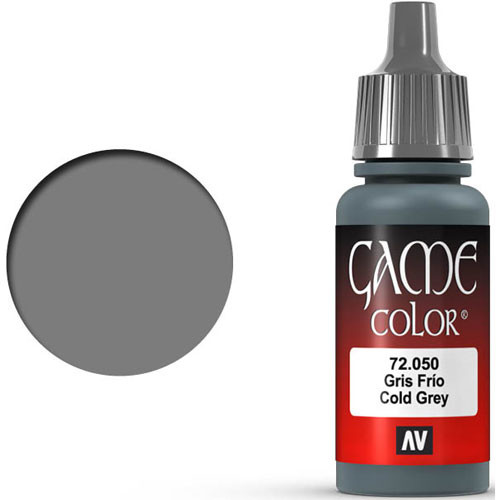 Vallejo Game Color: Cold Grey (17ml)