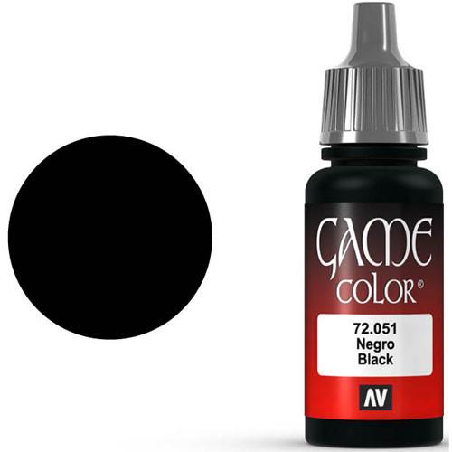 Vallejo Game Color: Black (17ml)
