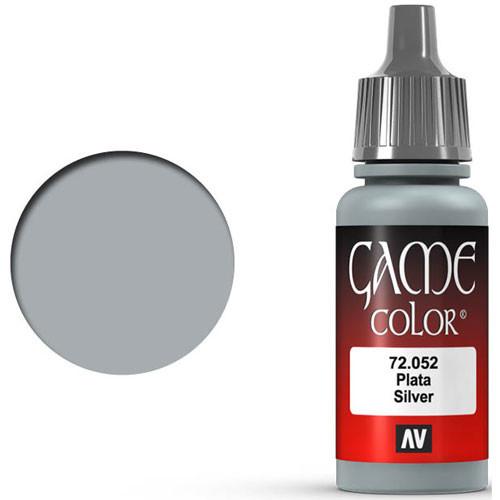 Vallejo Game Color: Silver (17ml)
