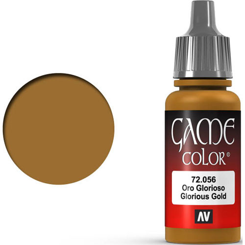 Vallejo Game Color: Glorious Gold (17ml)