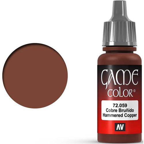 Vallejo Game Color: Hammered Copper (17ml)