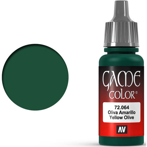 Vallejo Game Color: Yellow Olive (17ml)