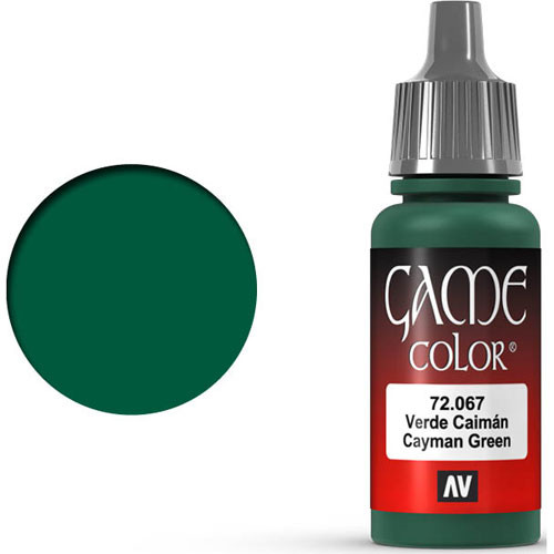 Vallejo Game Color: Cayman Green (17ml)