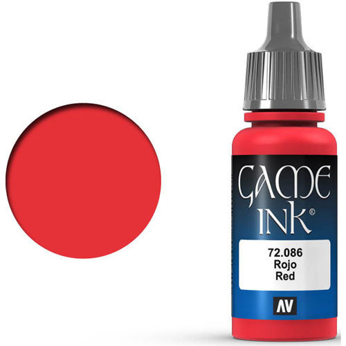 Vallejo Game Color: Red Ink (17ml)
