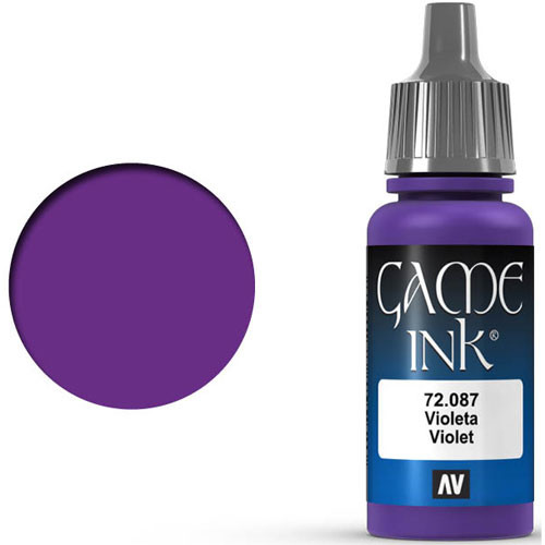 Vallejo Game Color: Violet Ink (17ml)