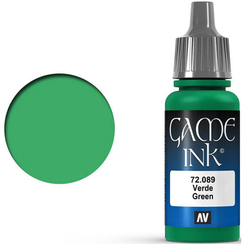 Vallejo Game Color: Green Ink (17ml)