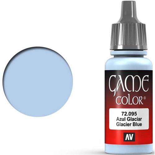 Vallejo Game Color: Glacier Blue (17ml)