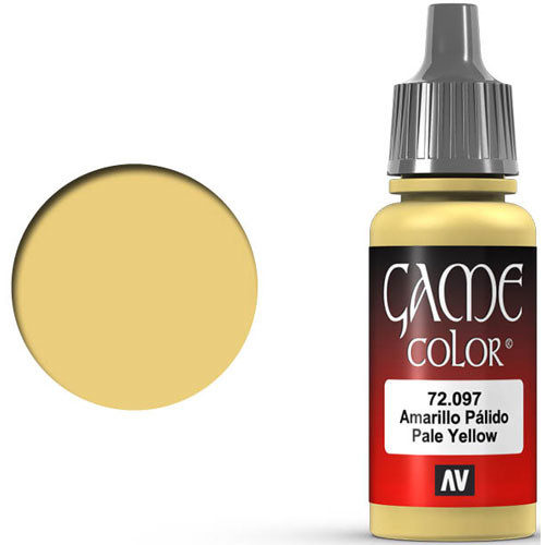 Vallejo Game Color: Pale Yellow (17ml)