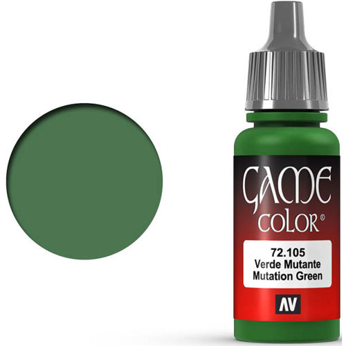 Vallejo Game Color: Mutation Green (17ml)