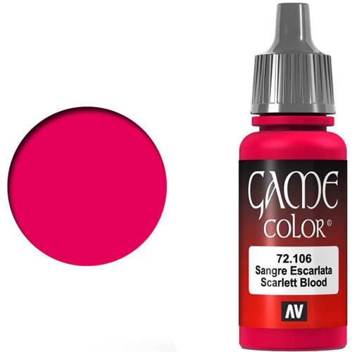 Vallejo Game Color: Scarlet Blood (17ml)