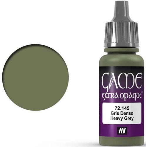 Vallejo Game Color: Heavy Grey (17ml)
