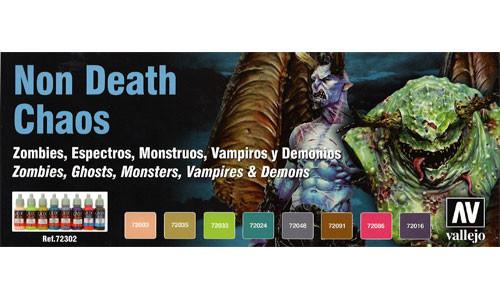 Vallejo Game Color: Non Death Chaos Paint Set
