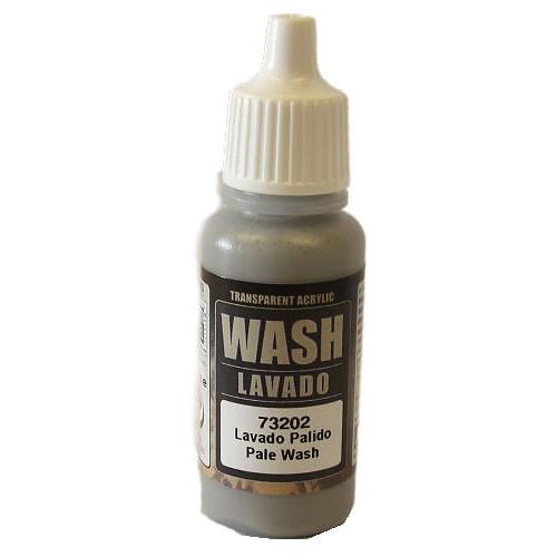 Vallejo Model Color Paint - Pale Grey Wash (17ml)