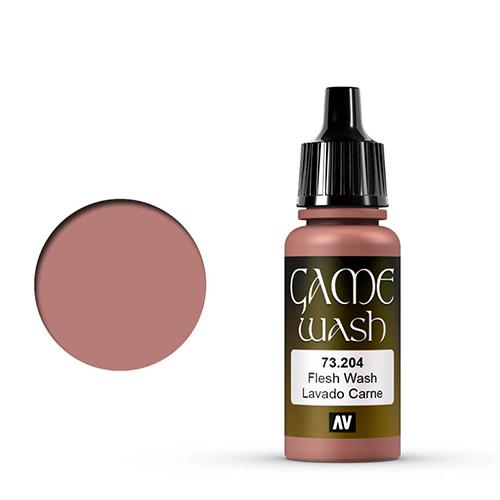 Vallejo Model Color Paint - Fleshtone Wash (17ml)