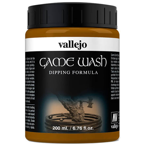 Vallejo Auxiliary Products - Sepia Dipping Formula (200ml)