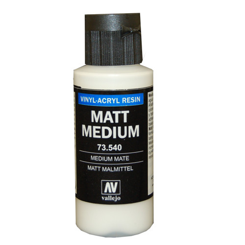 Vallejo Auxiliary Products - Matt Medium (60ml)