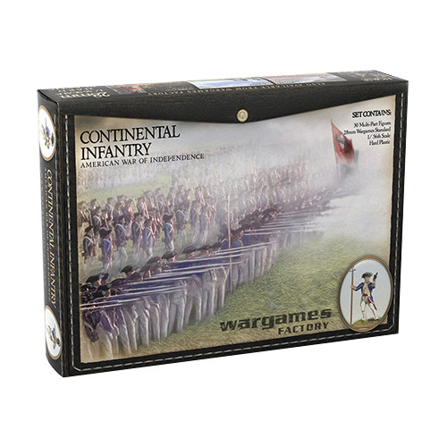 American War of Independence: Continental Infantry (30)