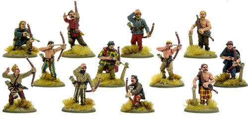 SPQR: Gaul - Tribesmen Archers | Table Top Miniatures
