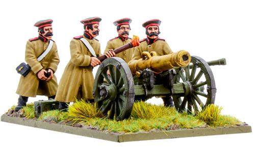 Black Powder: Crimean War - Russian Foot Artillery with 12