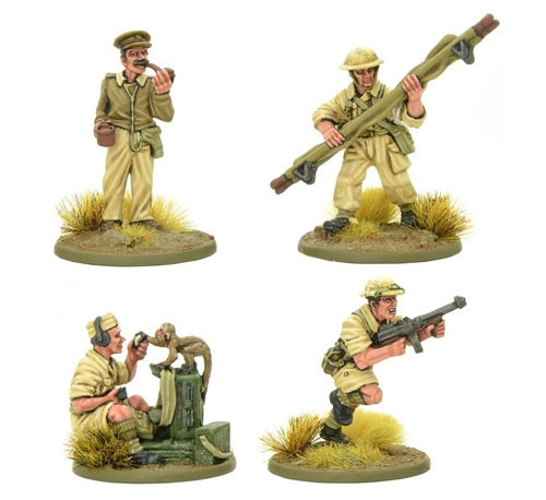 8th Army Support Group Warlord Games Wargaming miniature Bolt Action