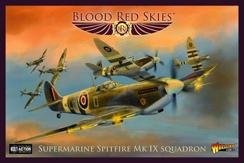 Blood Red Skies: British - Supermarine Spitfire Mk IX Squadron
