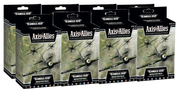 Axis and Allies Air Force Angels 20 Booster Case (8)