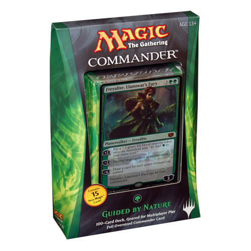 Magic the Gathering: Commander 2014 - Guided By Nature