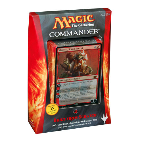 Magic the Gathering: Commander 2014 - Built From Scratch