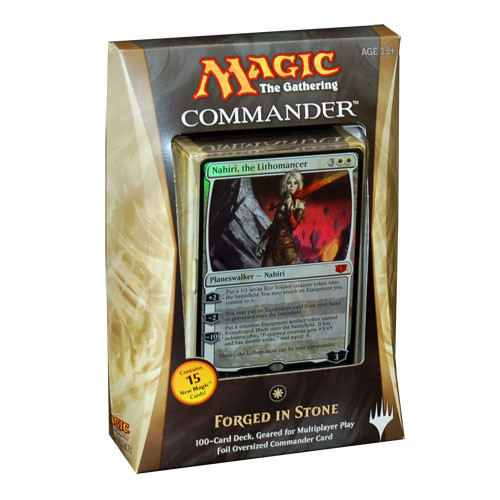 Magic the Gathering: Commander 2014 - Forged In Stone