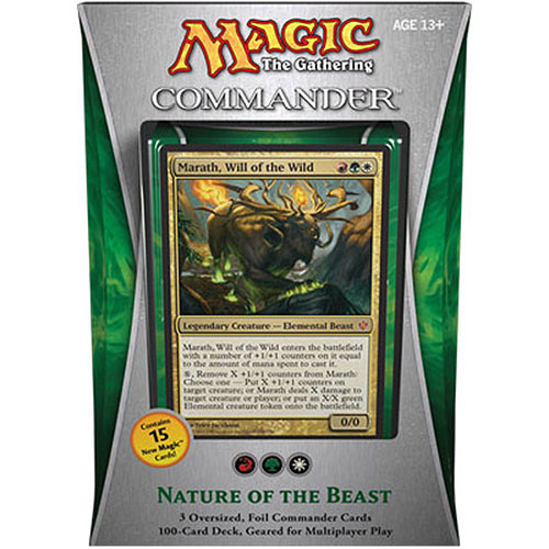 Magic the Gathering: 2013 Commander Deck (Nature of the Beast)
