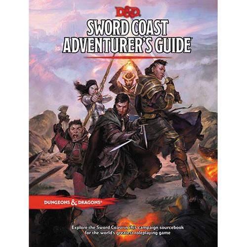 D&D 5E RPG: Sword Coast Adventurer's Guide